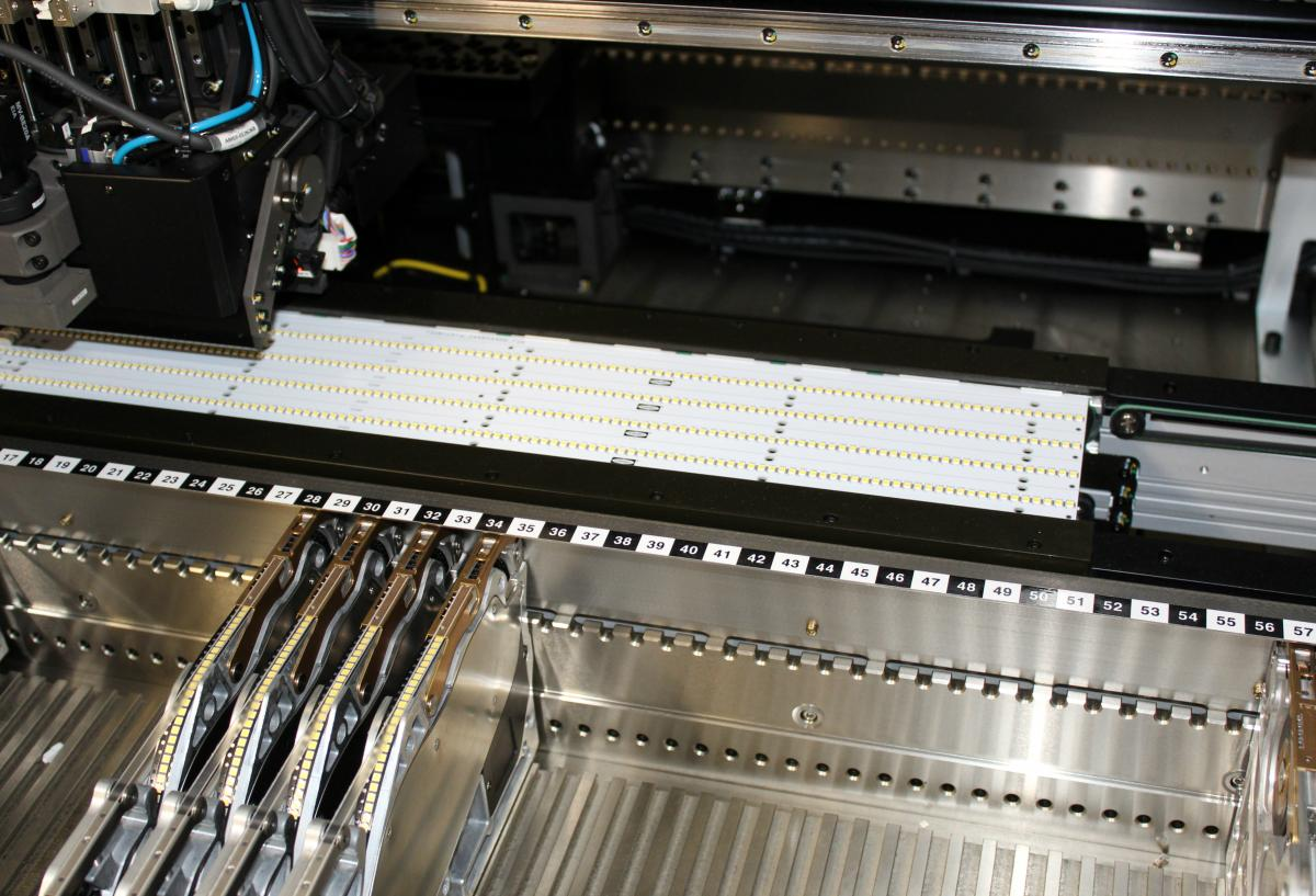 Led Pcb Assembly Global Manufacturing Services Inc Printed How To Check A Circuit Board Out The Production Video Below